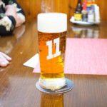 Detail natočeného pivá Excelent 11 které u nás v penzionu U Karla IV točíme